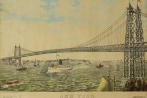 65/5630   [America. New York]. New York and Williamsburg Bridge (Bridge no