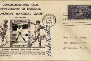 65/2341   [Baseball]. Ruth, G.H. ('Babe') (1895-1948).